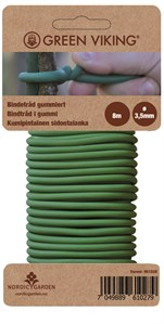 Bindo gummiert bindetråd 3,5mm x 8m Green Viking